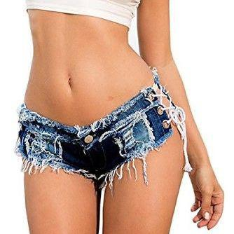 Sexy Cut Off Women Ladies Denim Jea..