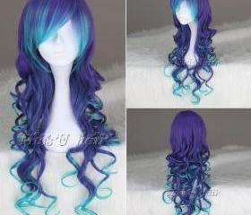 Blue Mix Purple Long..