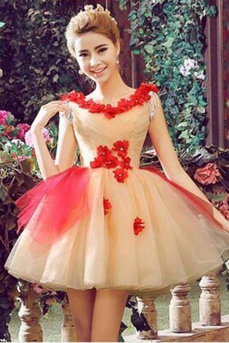 Stylish Fashion Sleeveless Ball Gown Tutu short dresses wedding bridal Skirts